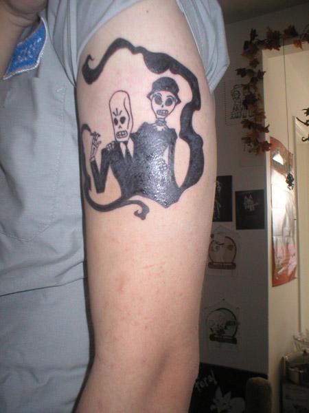 Costumes Grim Fandango 19-tattoo